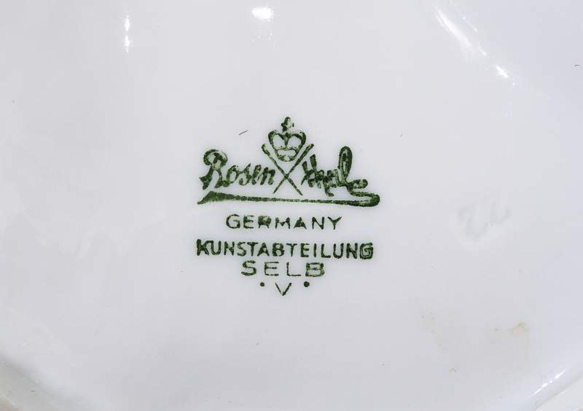 """Große Tierplastik """"Paradiesvogel"""". Große Tierplastik """"Paradiesvogel"""". ROSENTHAL Kunstabteilung Selb, - Bild 7 aus 8"""