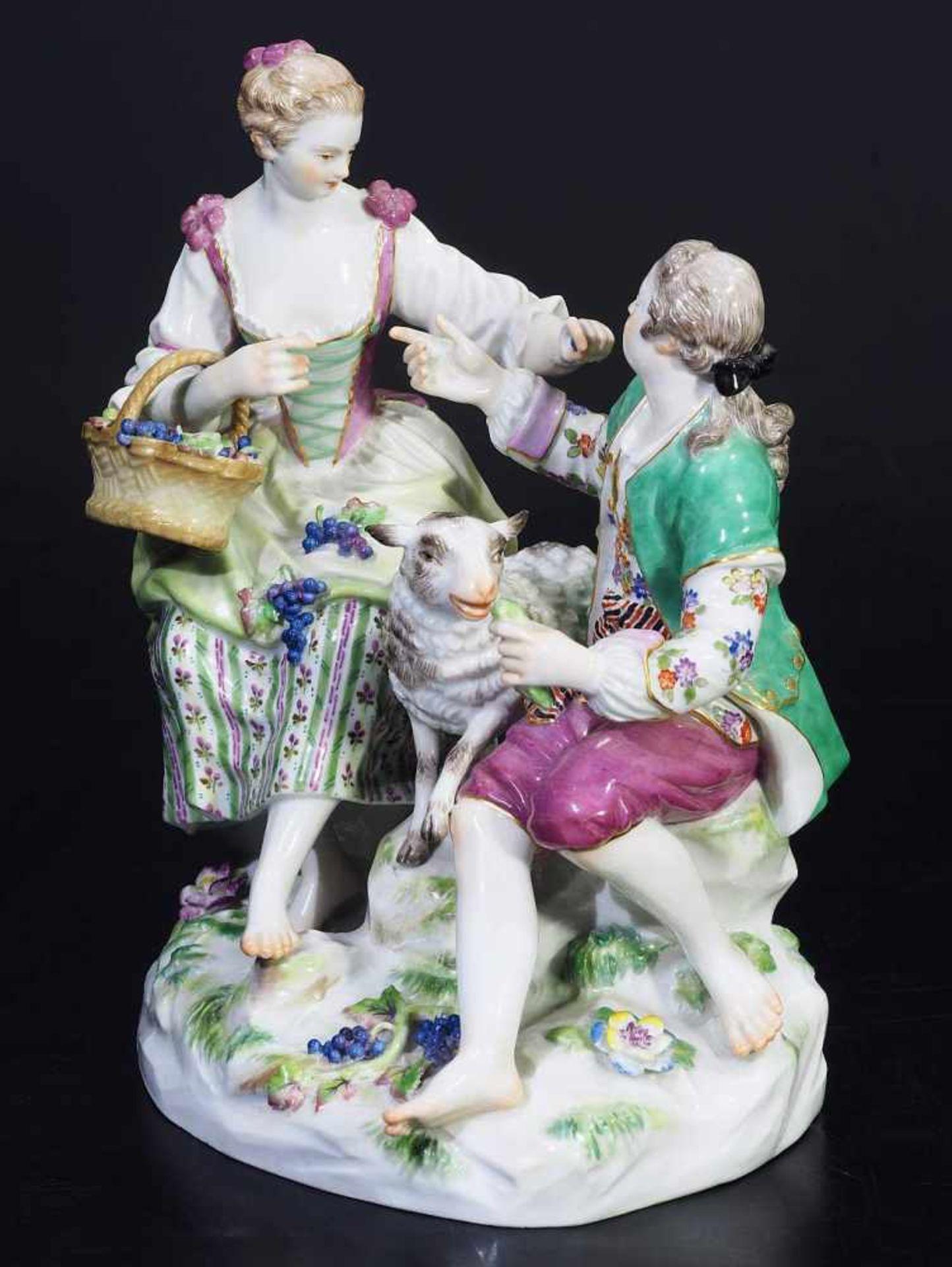Los 14 - ACIER, Michel Victor.ACIER, Michel Victor. 1736 Versailles - 1799 Dresden. MEISSEN nach 1934, 1.