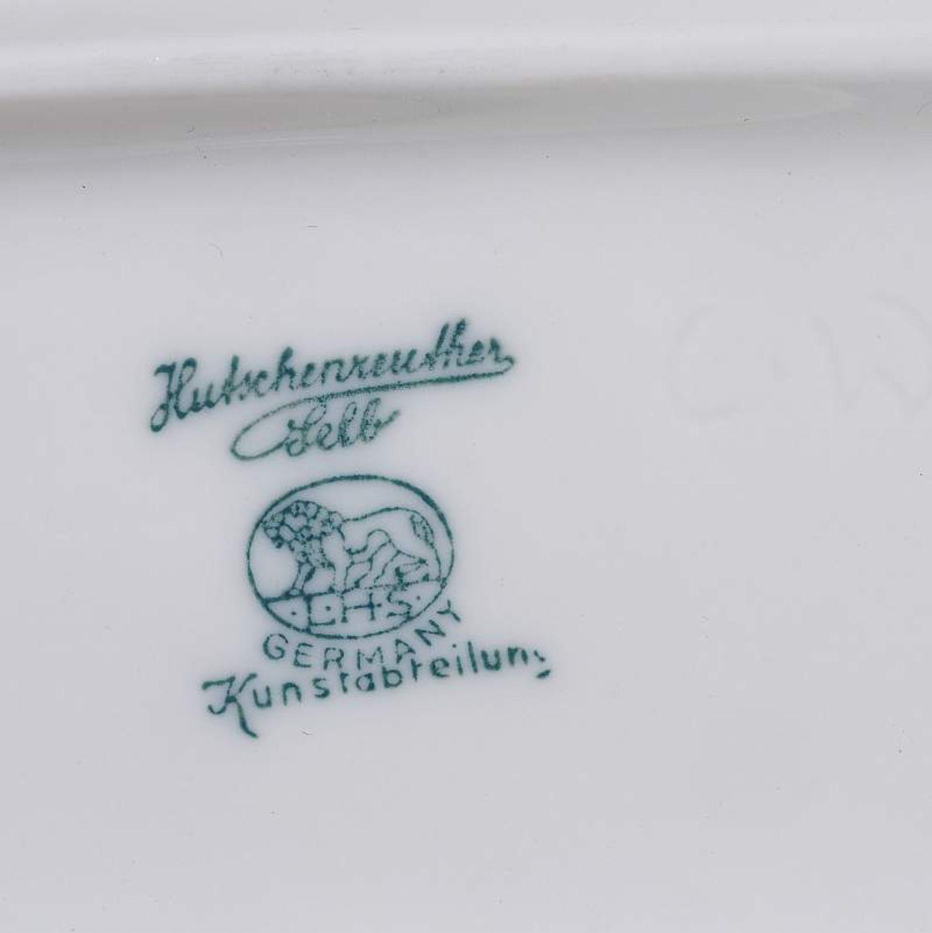 Los 34 - Mädchen mit Reh, ROSENTHAL. Mädchen mit Reh, ROSENTHAL, Germany Kunstabteilung Selb, handgemalt.