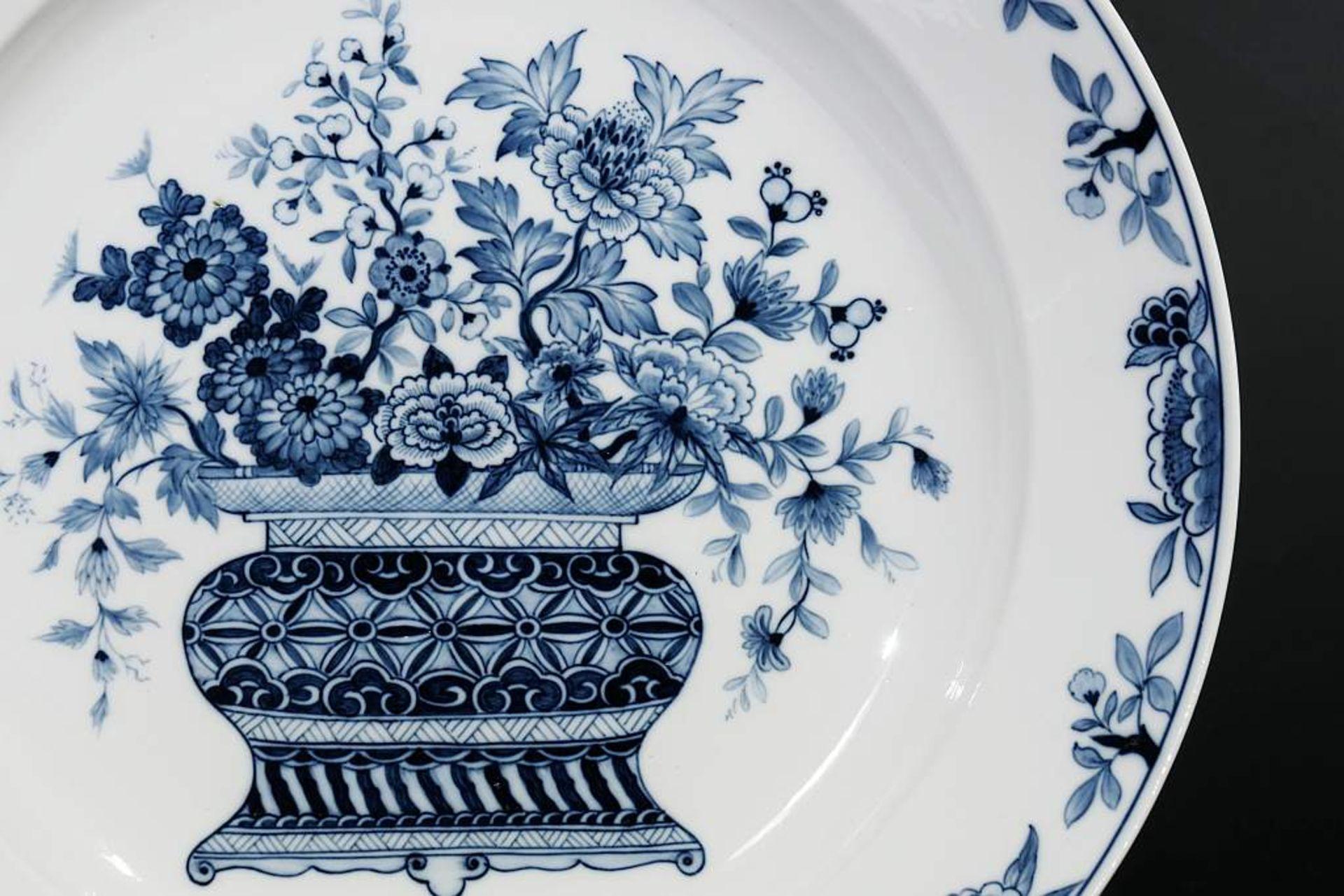 Los 9 - Seltene Blaudekor-Schale. Seltene Blaudekor-Schale. MEISSEN 19. Jahrhundert, 1. Wahl. Florale
