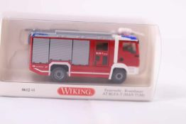Wiking 061248 Feuerwehr Rosenbauer , AT RLFA-T (MAN TGM), neuwertig, OVP- - -20.00 % buyer's premium