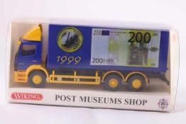 Wiking 81-06, Wechselkoffer LKW (MB-Atego), Euro, neuwertig, OVP- - -20.00 % buyer's premium on