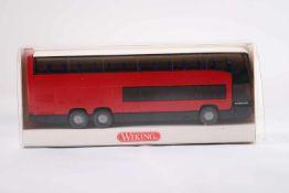 Wiking 7150237 Reisebus MB 0 404 DD, neuwertig, OVP- - -20.00 % buyer's premium on the hammer