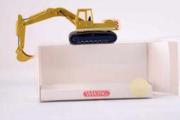 Wiking 6600024 Raupenbagger D + K, Klebestelle unten, sonst neuwertig, mit OVP- - -20.00 % buyer's