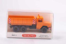 Wiking 064501 Schuttwagen , (Magirus-Deutz), neuwertig, OVP- - -20.00 % buyer's premium on the