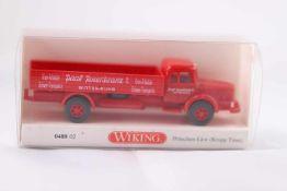 Wiking 048002 Pritschen-LKW (Krupp Titan), neuwertig, OVP- - -20.00 % buyer's premium on the