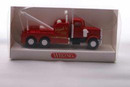 Wiking 6310127, Abschleppwagen (US-Truck),neuwertig, OVP- - -20.00 % buyer's premium on the hammer