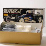 """tamiya 58344 """"Desert Gator"""", Bausatz, neuwertig, OVP mit Lagerspuren,- - -20.00 % buyer's premium on"""