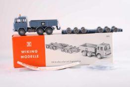 Wiking 590 DB-Straßenroller m. Zugmaschine, neuwertig, OVP- - -20.00 % buyer's premium on the hammer