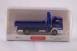Wiking 069319 THW - Pritschen - LKW (MAN-TGL), neuwertig, OVP- - -20.00 % buyer's premium on the