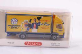Wiking 043505 Koffer LKW (MB-Atego), Post Brauerei Weiler, neuwertig, OVP- - -20.00 % buyer's