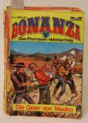 Posten von ca. 55 Heften. Dabei: Bessy, Silberpfeil, Buffalo Bill usw.