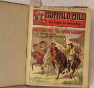 Buffalo Bill, Heft 31 bis 60, gebunden.