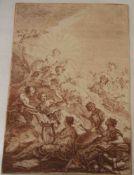 "Wink, Johann Christian Thomas (1738 - 1797) Maler und Radierer des späten Rokoko: ""Museder Musik""."