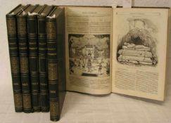 """""""Le Magasin Pittoresque"""". 6 Bde. 1846 umd 1851 - 1855. Populäres Lexikon von EdouardCharton mit"""