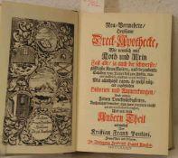"""Paulini, Kristian Frantz: """"Heilsame Dreck-Apotheke 1734"""". Neuer Nachdruck."""