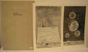 """Max Ernst (Brühl 1891 - 1976 Paris): """"Histoire naturelle"""". Deutsche Ausgabe. Neudruck von1972, 350er"""