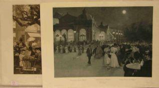 Carlsbad. 19 Photogravuren nach W. Gause bei Paulussen, Wien, Stuttgart 1896. Blattgröße:ca. 60 x