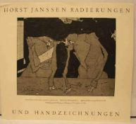 """Janssen, Horst (1929 - Hamburg - 1995): """"Plakat: Horst Janssen Radierungen undHandzeichnungen,"""