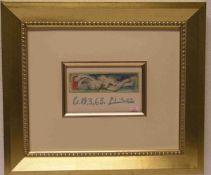 """Picasso """"Le Nu"""". Farblithografie für die Eröffnung """"Les Dames de Mougins"""", in der Plattesigniert"""