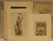 """""""München"""". 87 Ansichten, teilweise koloriert, unter anderem mit Originalsignatur vonHannes"""