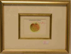 """Beuys, Joseph: """"Wärmezeitmaschine"""" 1975. Multiple, handsigniert, 10 x 14cm, Rahmen mitGlas."""