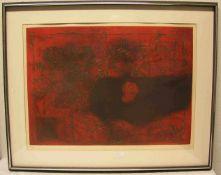 "Clavé Antoni: ""Moderne Composition"". Radierung, 25/50, signiert, 50 x 68cm.- - -20.17 % buyer's"