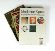 3 Bücher/HefteEntartete Kunst, Ausstellungsführer; Fritz Kaiser, München; Verlag für Kultur- und