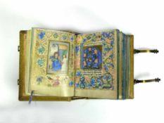StundenbuchNachdruck des Originals aus dem Jahre 1453; Einband mit Messingschließen
