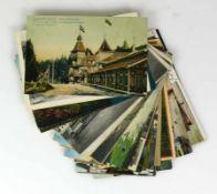 Konvolut Ansichtskarten (Anfg. 20.Jh.)21 Ansichtskarten vorwiegend Südwesten und Bodensee;