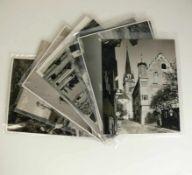 Siegfried Lauterwasser11 schwarz/weiß Fotos mit Bodensee-Motiven; je 18 x 24 cm; ca. Mitte 20.Jh.