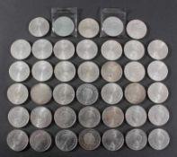 Niederlande, 40x 10 Gulden 1970 in vz., 2 sind eingeschweißt