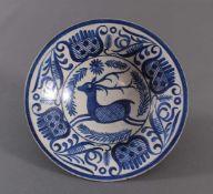 Benno Geiger (Engelberg 1903 - 1979 Bern), KeramikschaleKeramik, roter Scherben, helle Glasur,