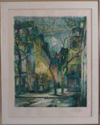 Farblithografie FossHandsigniert und nummeriert.Gerahmt. Bildmaß ca. 44 x 55 cm. Rahmenmaß ca. 60