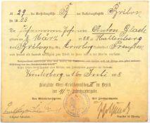 PRINZ ERNST VON SACHSEN-WEIMAR, (1859-1909, Oberst u. Kdr. d. 41. Inf.-Brigade, Sohn d. Prinzen