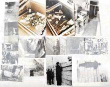 """DOKUMENTATION """"GRENZPROVAKATIONEN"""", an der Berliner Mauer, rübergeworfener Müll, Fluchttunnel"""
