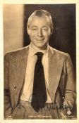 RÜHMANN, HEINZ, (1902-1994), dt. Schauspieler, zeitgen. Tinten-OU auf Autogramm-Karte, Ross