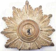 TSCHAKOSTERN FÜR POLIZEIOFFIZIERE, (Leitende Beamte Westberlin, um 1955, Wappen m. Mauerkrone,