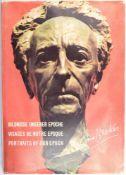 BREKER, ARNO, (1900-1991) dt. Bildhauer u. Architekt, Widmung u. OU in Tinte von 1972, im Vorsatz