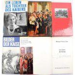 """HERZOGIN VIKTORIA LUISE, (1892-1980), OU auf Titelblatt ihres Buches """"Im Glanz der Krone"""", Göttingen"""