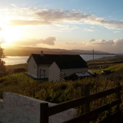 Lot 10 - Cottage on the Isle of Skye A weeks holiday on the beautiful Isle of Skye for up to 7 people in a