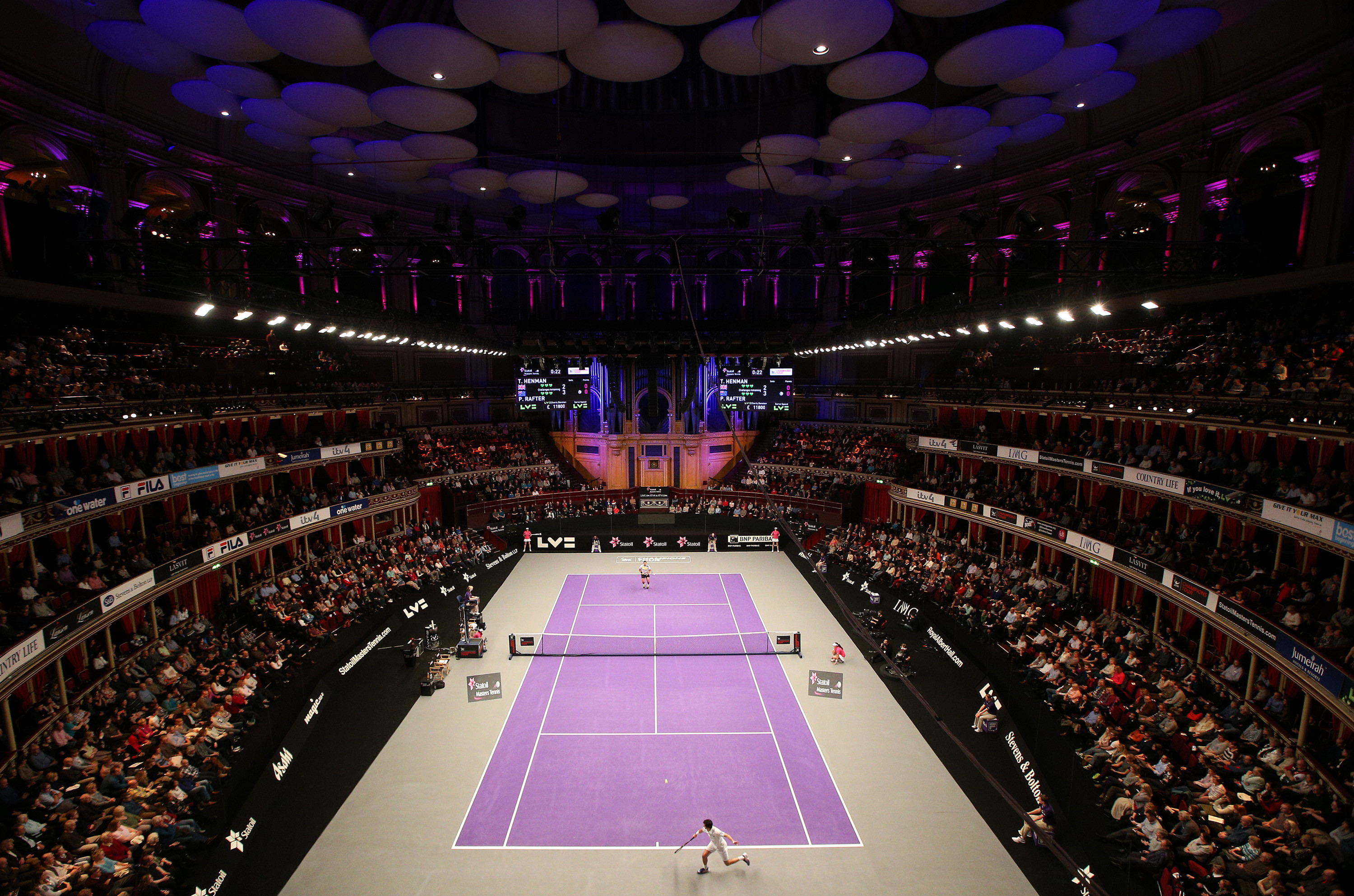 Lot 36 - Champions Tennis at The Royal Albert Hall Watch the greatest players on the grandest stage! Grand