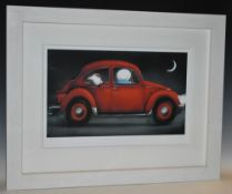 Doug Hyde, by and after, The Love Bug, giclee print on paper, signed in pencil,