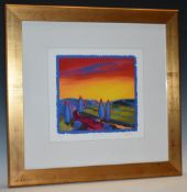 Barbara Brody (contemporary), by and after, Early Light, signed, titled,