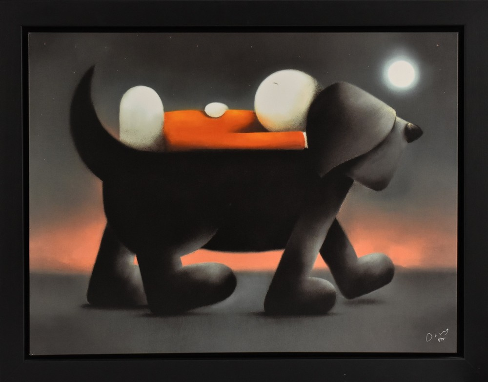 Doug Hyde, by and after, Sleep Walking, signed, giclee print on canvas, limited edition 6/95,
