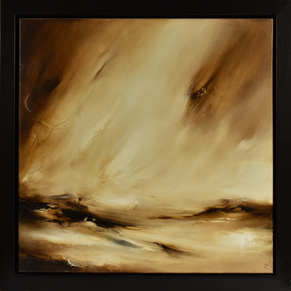 Chris and Steve Rocks (contemporary) Transient signed and titled to verso, oil on canvas,