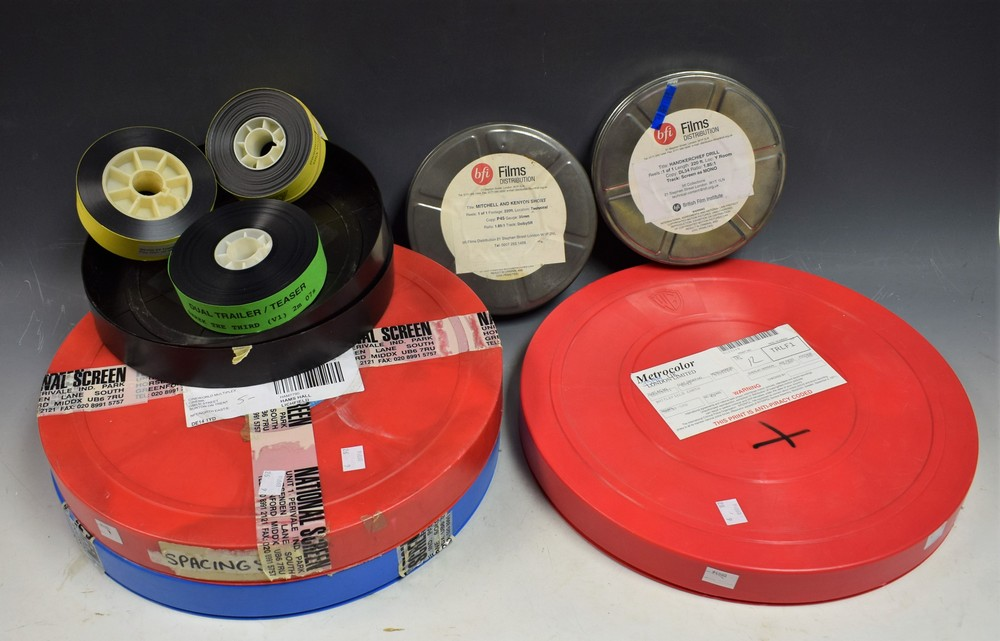 Lot 5035 - Films - The British Film Institute, cinema shorts, Handkerchief Drill, DL34, Mono, 35mm; another,