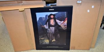 A collection of Pirelli calendars, dating from 1980's and 1990's, approx 17,