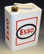A reproduction Esso fuel can, approx 33.