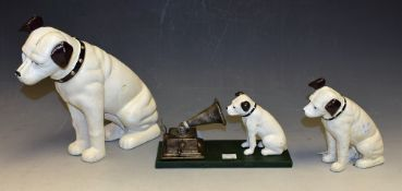 Advertising - a reproduction cast metal model,